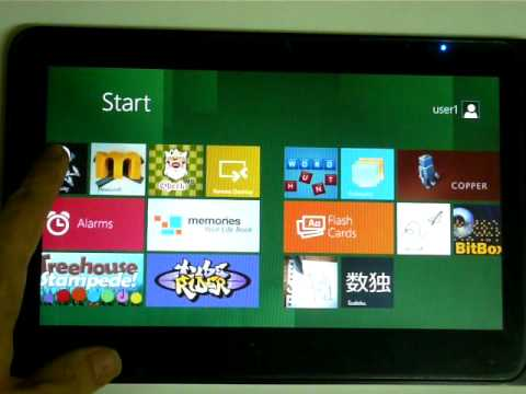 Unifox Xenon & M10 Windows 8 Tablet Developer Preview