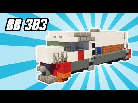 Minecraft Indonesian BB 303 Locomotive Tutorial