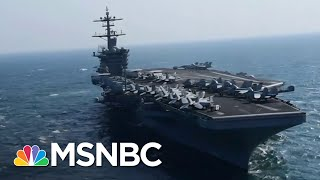 Aircraft Carrier Capt. Begs Navy For Help As 93 Sailors Test Positive For COVID-19 | All In | MSNBC