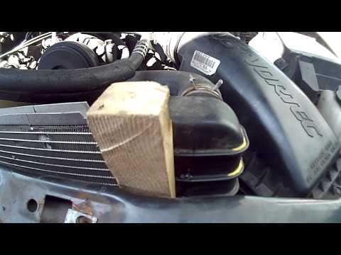 2000 Blazer radiator leak