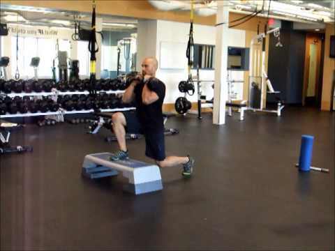 02b  Single Leg   Deficit Split Squat with a Pulse