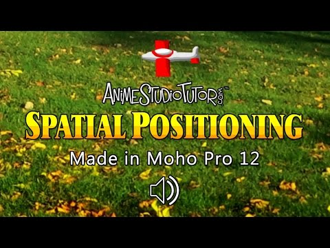 Spatial Positioning Audio - Toy Plane - Made in Moho Pro 12