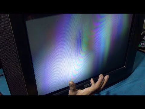 How To Repair Blurry Display And Low Brightness Of CRT Color Television (Bengali Tutorial)