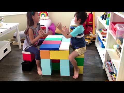 GIANT LEGO LIKE BUILDING BLOCK TOYS FOR KIDS