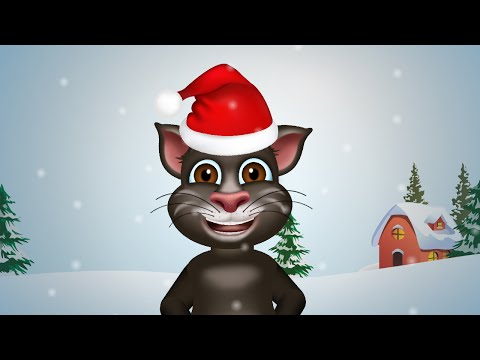 Deck the Halls Christmas Songs for Children Christmas Carol Song | Tom Cat Deck the Halls Song