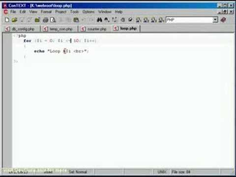 TUTORIAL PHP & MySQL - Loops and Array