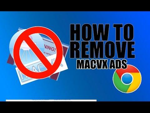 How To Remove MacVx ads (Google Chrome)