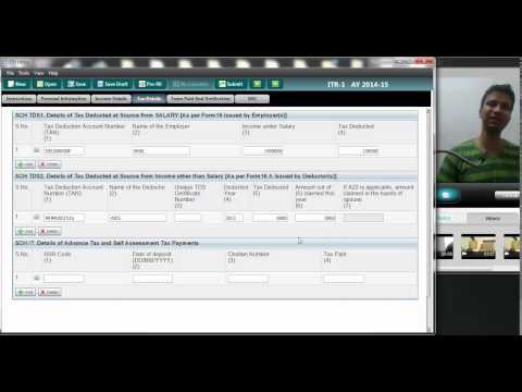 How to file Income tax return using Java Utility | ITR 1