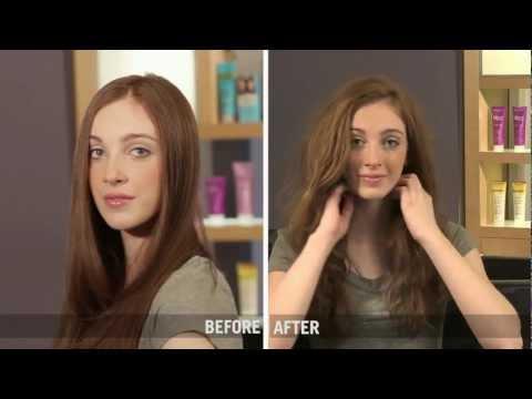 Bohemian Beach Wave Hair Tutorial - Salon Expert Texture Spray
