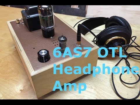 6AS7 Tube Headphone Amp