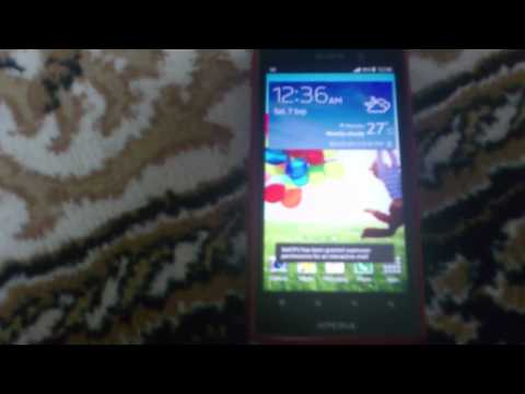 Testing Sony Xperia Ion with Touchwiz Launcher.