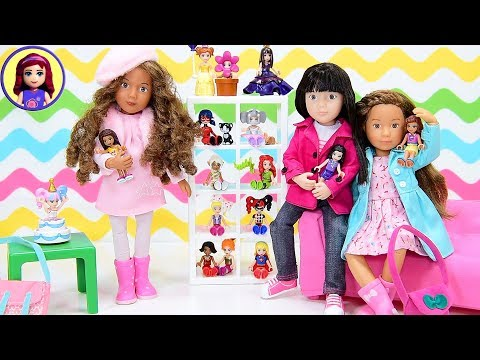 Lego Friends as Real Dolls! Kruseling Dolls Dress Up and Play Kids Toys