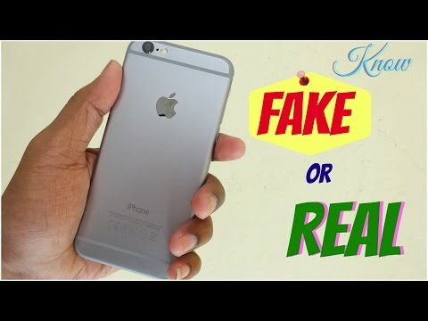 How to know Iphone 6 is original | Hindi