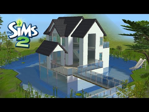 ♢ House With Underwater Basement ♢ The Sims 2 ♢