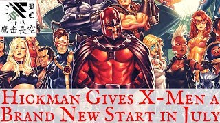 Download Jonathan Hickman Cancels X-Men Line for a Fresh Start Video