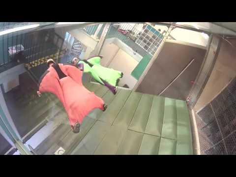 Indoor Wingsuit Flying - Acrobatics Training