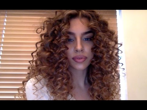 Curly Hair Tutorial
