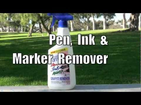 #3 Pen, Ink & Marker Graffiti Remover by Motsenbocker's LIFT OFF