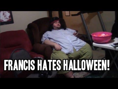 Francis HATES HALLOWEEN!  - Part of Halloweek!