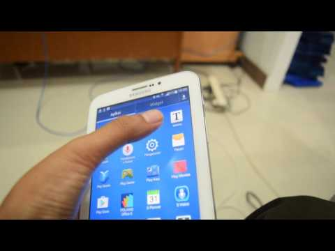 Review Samsung Galaxy Tab 3 SM-T211 and tutorial language add