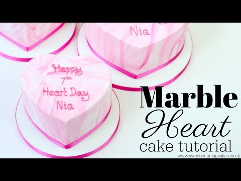 How to make Marble Fondant