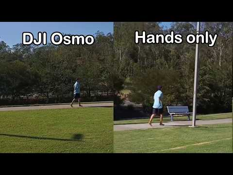 Filming with DJI Osmo Mobile 2 Gimbal vs. filming with hands only