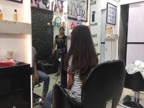 Girl Getting Long Layers Haircut (Cherrycupcake's Haircut )