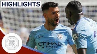 Man City 2-0 Chelsea | Aguero Hits Brilliant Brace | FA Community Shield Highlights