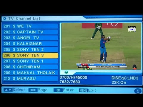 Dd free dish in all paid channels setting official video