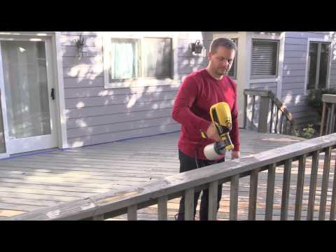 Wagner How To Prep and Stain A Deck