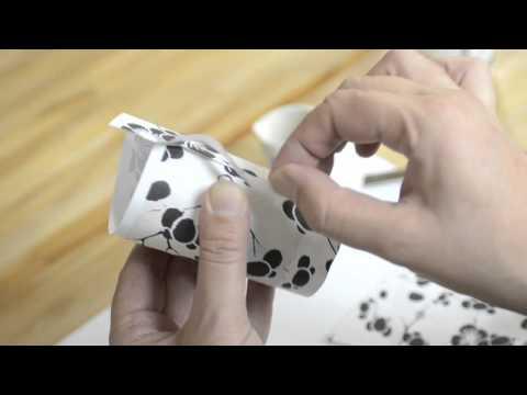DIY Decorative Votive Holder