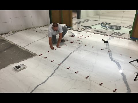 T-Lock™Tile Leveling System and Thin Porcelain Tiles 1/4