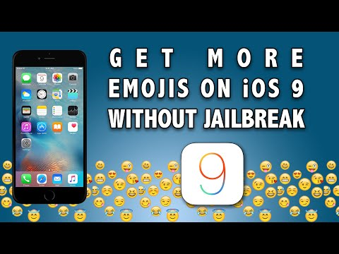 Get MORE Emojis on iOS 9 Without Jailbreak on Any iPhone, iPad, iPod Touch