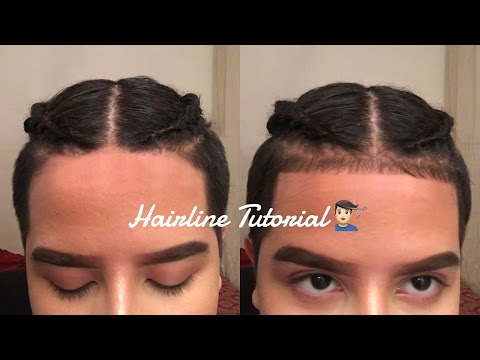 HOW TO HAIRLINE/BABY HAIRS TUTORIAL