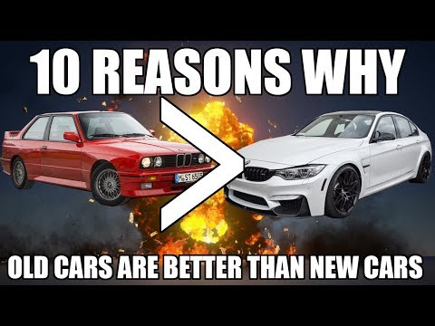 10 Reasons Why Old Cars Are Better Than New Cars