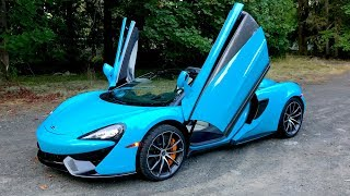 The McLaren 570S Spider Proves Supercars Can Have Open Differentials