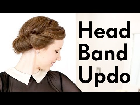 1940s Hair Tutorial Headband Trick