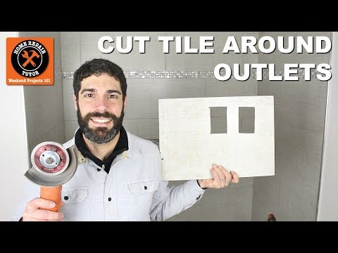 How to Cut Tile Around Outlets (Easy Accurate Cuts!)