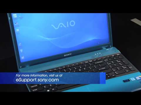 Sony VAIO® - How to disable or enable the scrolling feature of the touchpad