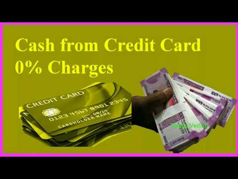 Credit Card Cash Withdrawal 0% Charges from Paytm Premium Account