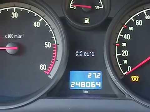 Astra H engine temperature