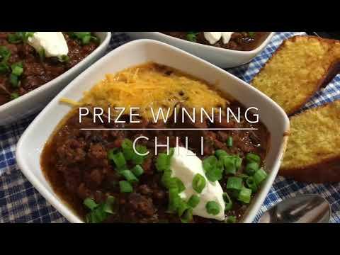 PRIZE WINNING Chili Recipe | Homemade
