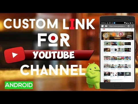 How to Create Custom Url Link For Your Youtube channel || Android || Hindi