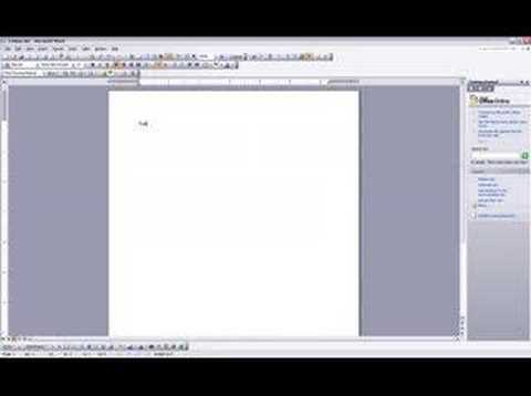 create a word document