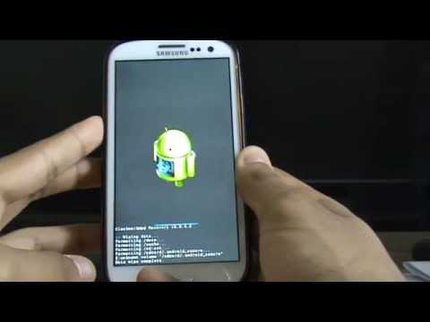 Boot into Recovery Mode and Factory Reset Samsung Galaxy S2 S3 S4 S5 ClockworkMod