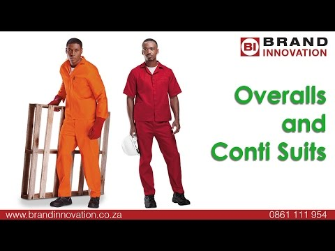 Conti Suits and Overalls South Africa
