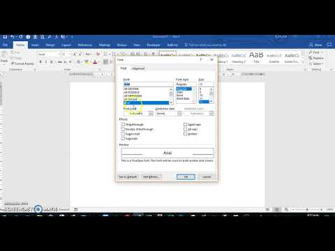 Set Default Font Style, Font Size, and Layout Spacing in Microsoft Word