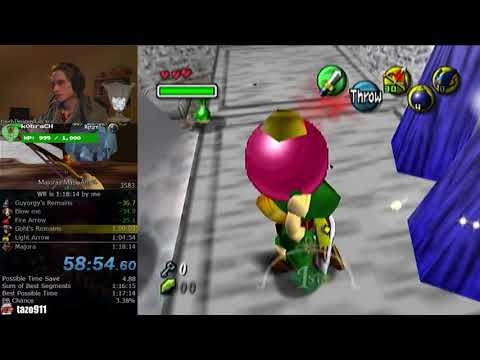 The Snowhead Curse is real (Majora's Mask Speedrunning)