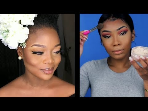 Best Makeup Transformations 2018 for Black Women | My Melanin Favorites 🤩