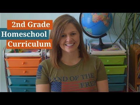 2nd Grade Homeschool Curriculum Choice  2017/2018